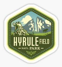 Hyrule National Park Sticker