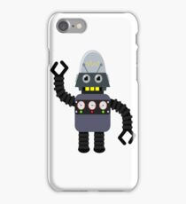 Funny robot iPhone Case/Skin