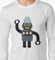 Funny robot Long Sleeve T-Shirt