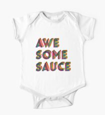 Awesome Sauce Typography Design  Kids Clothes
