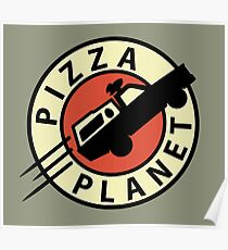 Pizza Planet Express Poster