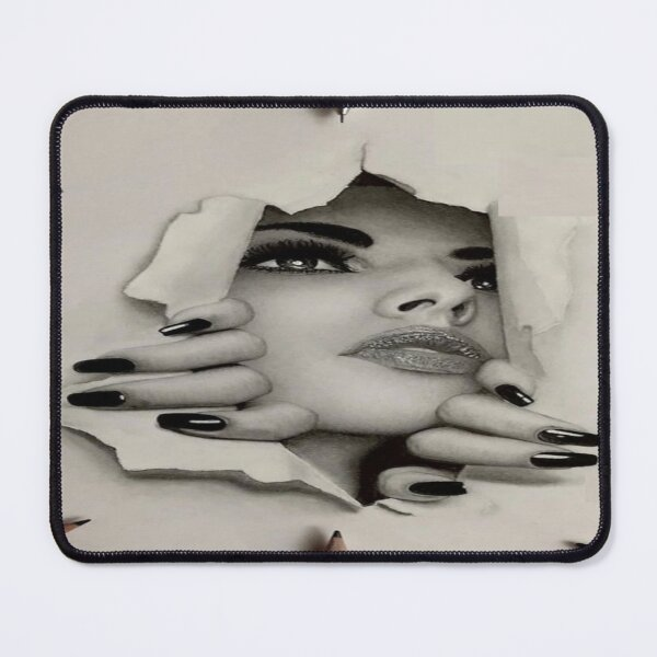 Female 3D gifts Mouse Pad