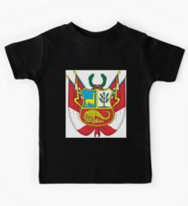 Peru Coat of Arms  If you like, please purchase an item, thanks Kids Clothes