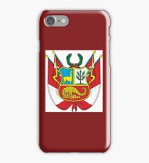 Peru Coat of Arms  If you like, please purchase an item, thanks iPhone Case/Skin