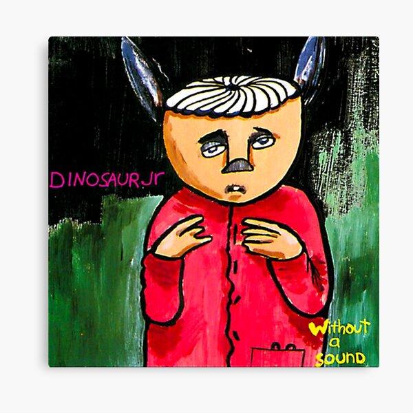 dinosaur jr without a sound single cover boncu Canvas Print