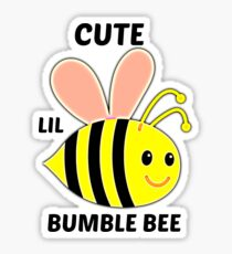Cute Lil Bumble Bee Sticker