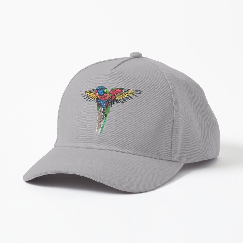Delilah the Rainbow Lorikeet Cap