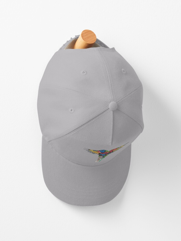 Alternate view of  Delilah the Rainbow Lorikeet Cap