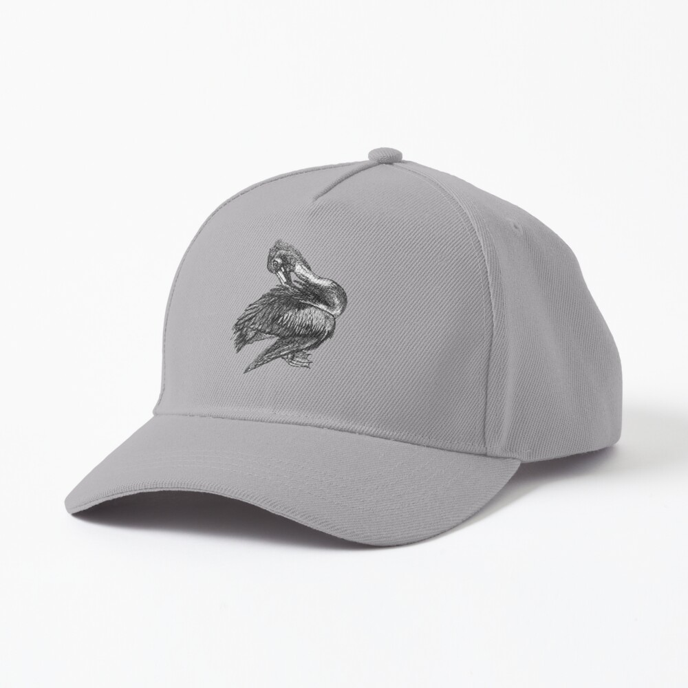 Percephone the Pelican Cap