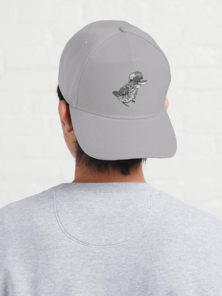 Alternate view of Mu Mu the Kookaburra Cap
