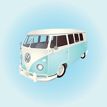 Classic VW Van by Carolynne