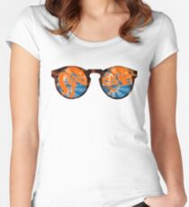 Syracuse Sunglasses  Women's Fitted Scoop T-Shirt