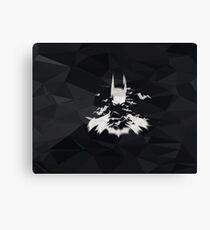 Superhero Art Work Bat Canvas Print