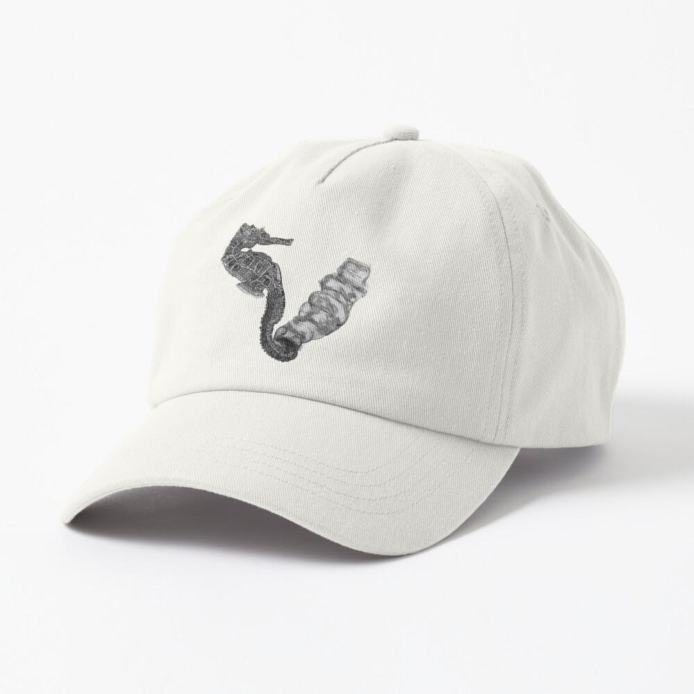 Sunday the Seahorse Cap