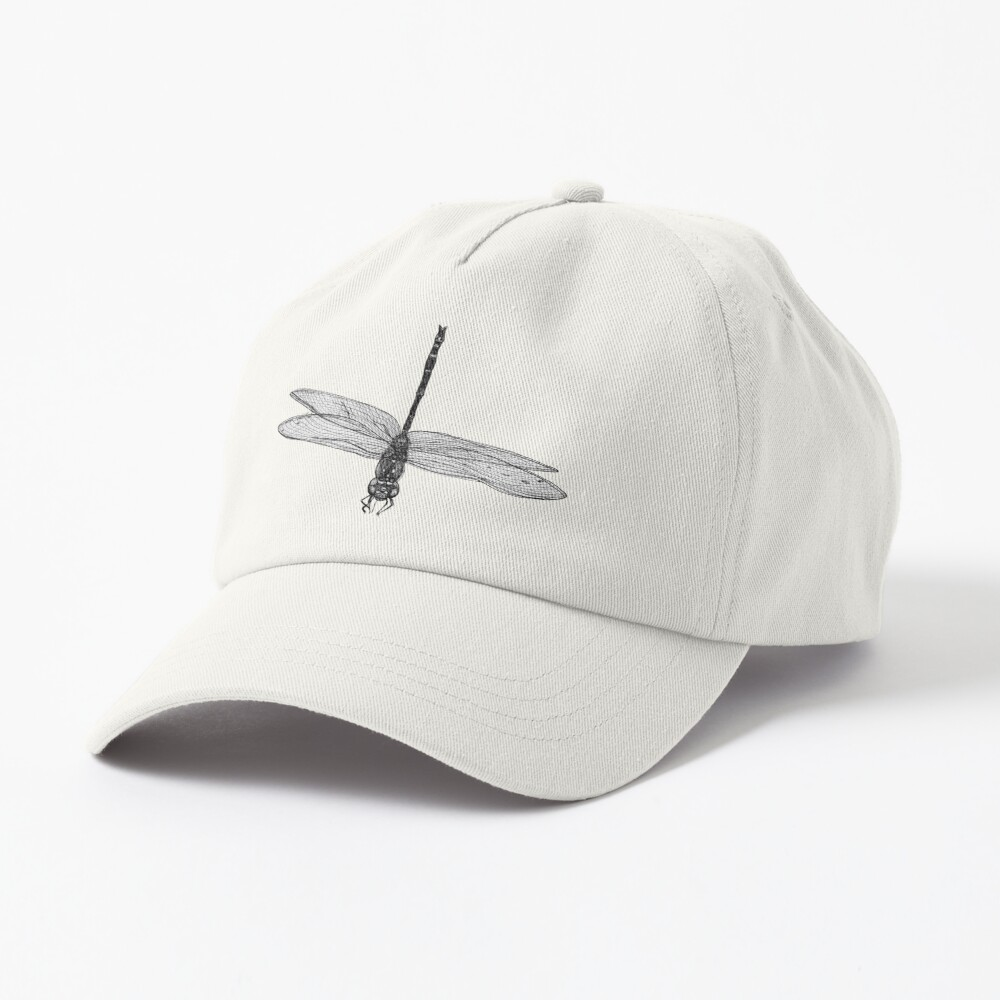 Marie the Dragonfly  Cap