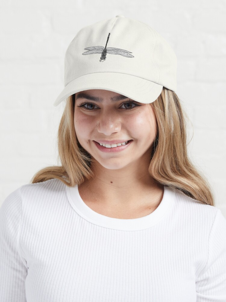 Alternate view of Marie the Dragonfly  Cap