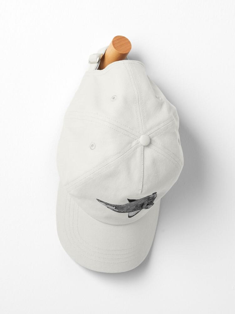 Alternate view of Rel the Grey Nurse Shark Cap