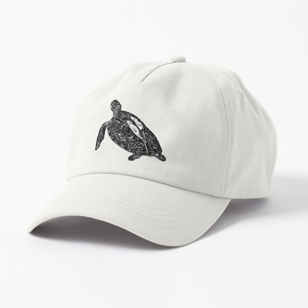 Lucy the Sea Turtle with Remora  Cap