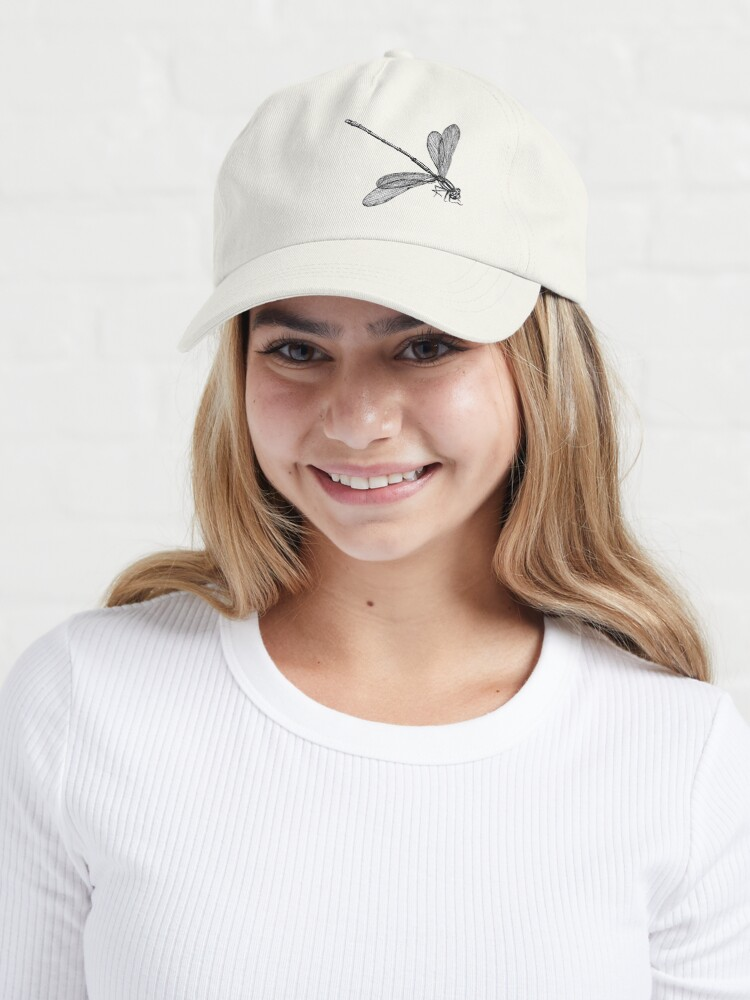 Alternate view of Eve the Dragonfly  Cap