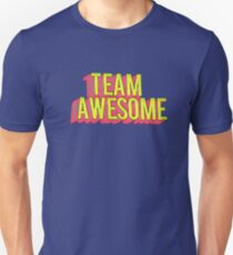 Team Awesome Typography Art Unisex T-Shirt