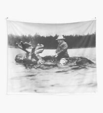 teddy roosevelt  Wall Tapestry