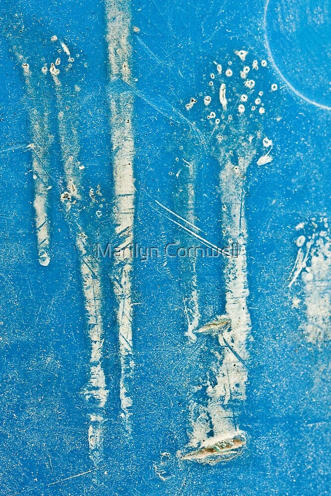 Frosted Trees by Marilyn Cornwell