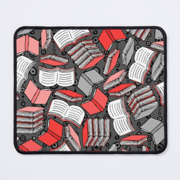 So Many Books...  Mouse Pad