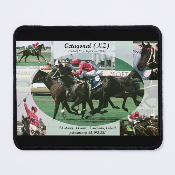 Octagonal career tribute Mouse Pad