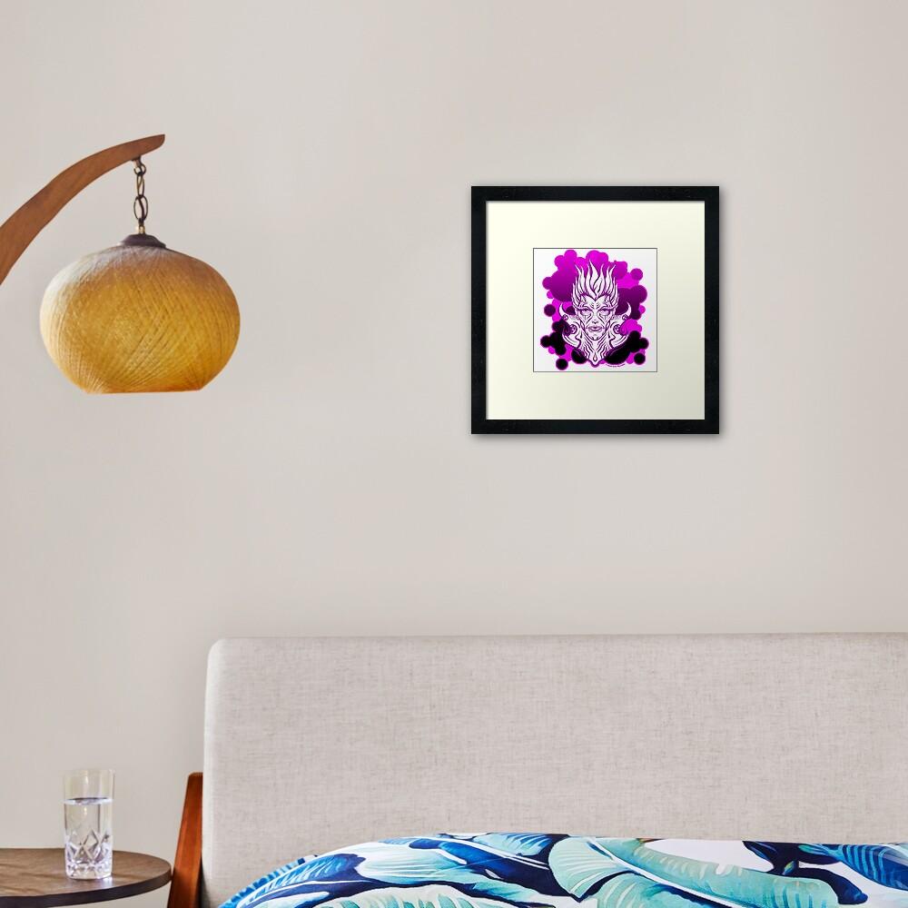 Jack Names Planets Framed Art Print