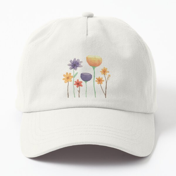 Mixed Flowers Dad Hat