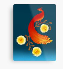 Folklore Firebird Metal Print