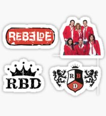 Rebelde/ RBD  Sticker