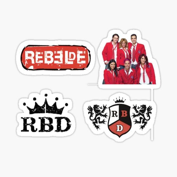Rebelde / RBD Pegatina
