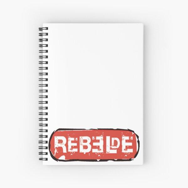 Rebelde / RBD Cuaderno de espiral