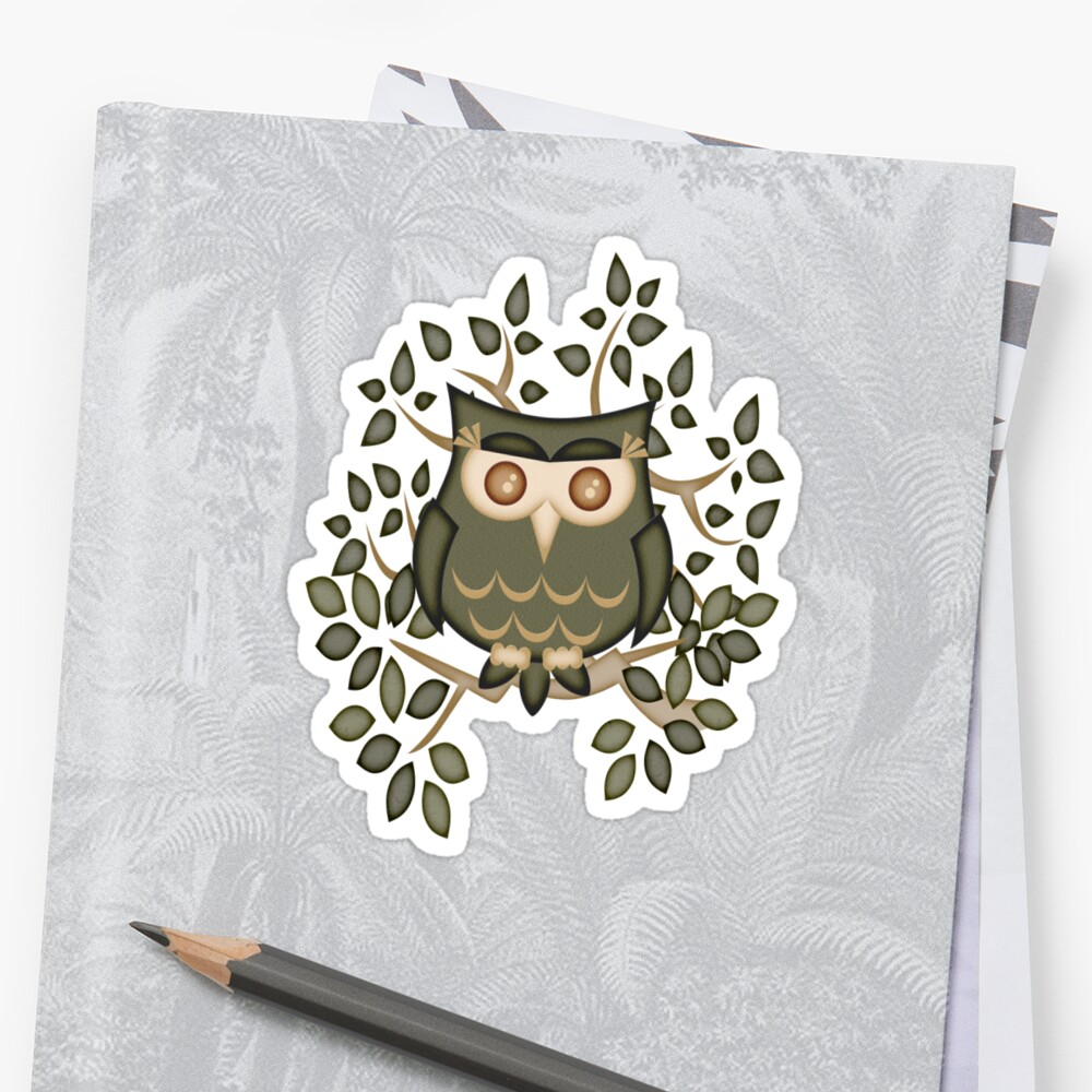 Mr Toot .. The Wise Owl by LoneAngel