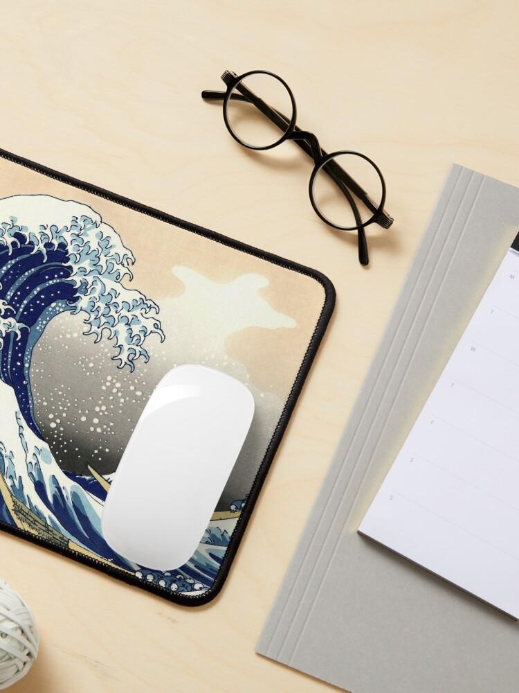 Alternate view of The Great Wave off Kanagawa - Hokusai Mouse Pad