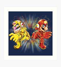 Super Flashy Rivals Art Print