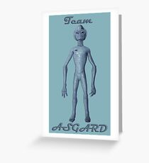Team ASGARD  Greeting Card