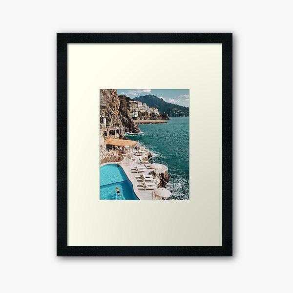 Beautiful Coast Framed Art Print