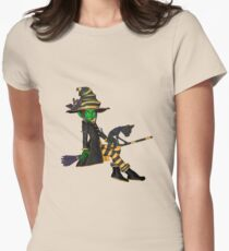 The Green Witch  Womens Fitted T-Shirt