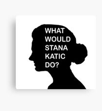 WHAT WOULD STANA KATIC DO? Canvas Print