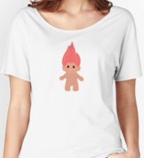 Pink Troll Women's Relaxed Fit T-Shirt