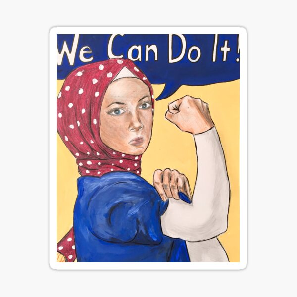 Reema the Riveter Sticker