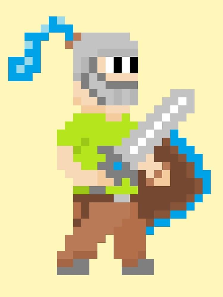 Pixel Knight! by Joels-Swag
