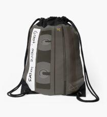 Great, more tapes (vertical) Drawstring Bag
