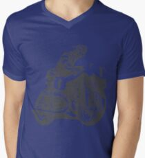 motorcycle Men's V-Neck T-Shirt