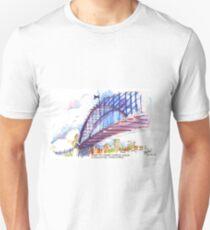 Under the Sydney Harbour Bridge Unisex T-Shirt