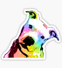 Pit bull | Rainbow Series | Pop Art Sticker