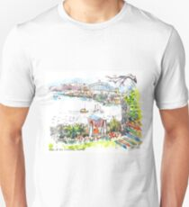 Sydney Harbour from Cockatoo Island Unisex T-Shirt