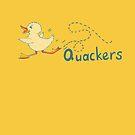Baby duck waddling Quackers by Sarah Trett
